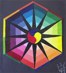Color Wheel Painting Ideas 86779 Loadtve