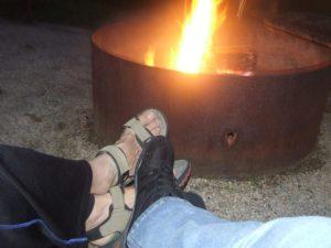 034-wayne-sharon-feet-campfire