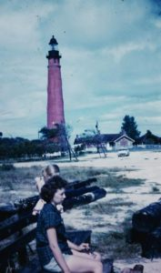 Ruth-Sharon-InletHarborLighthouse-1959