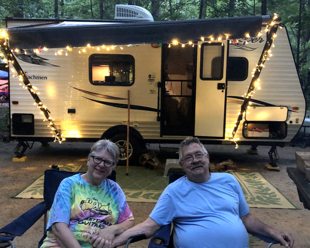 Camping Trip to Sherando Lake, June 2019